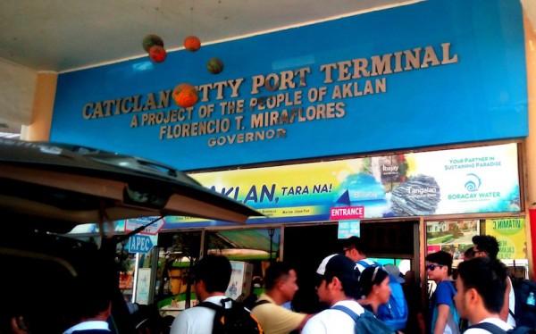 Caticlan Jetty Port Terminal