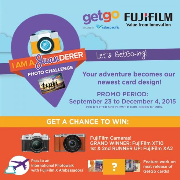 GetGo and Fujifilm Photo Contest