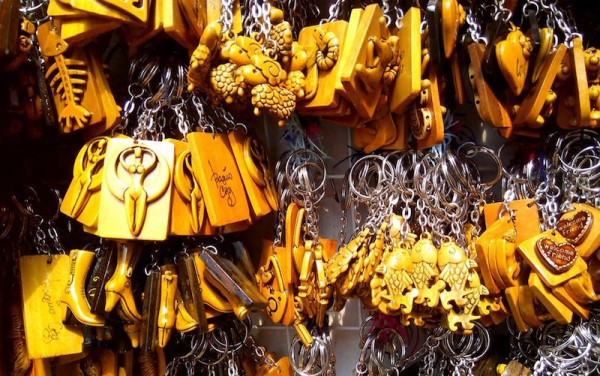 Keychains and souvenirs