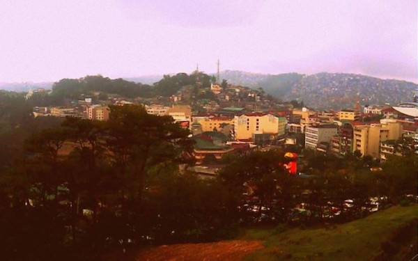 The view from SM Baguio