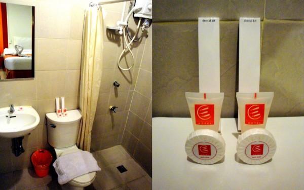 Bathroom and toiletries