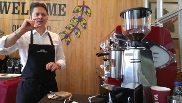 Costa Coffee Masterclass - Costa Coffee Master Tastemaker Gennaro Pelliccia