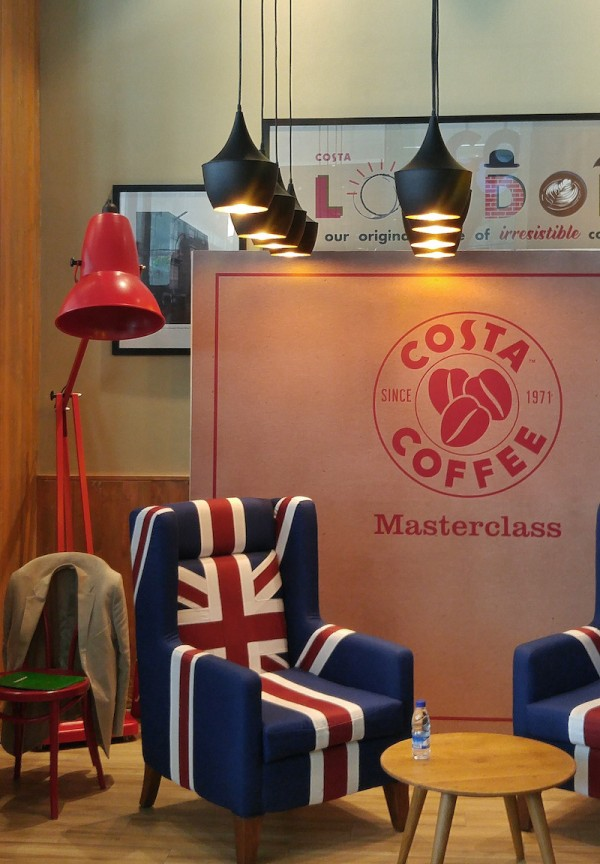 Inside Costa Coffee One World Place BGC