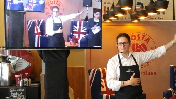 Master Tastemaker Gennaro Pelliccia giving us Coffee Lecture