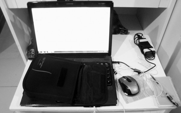 My adequate work space