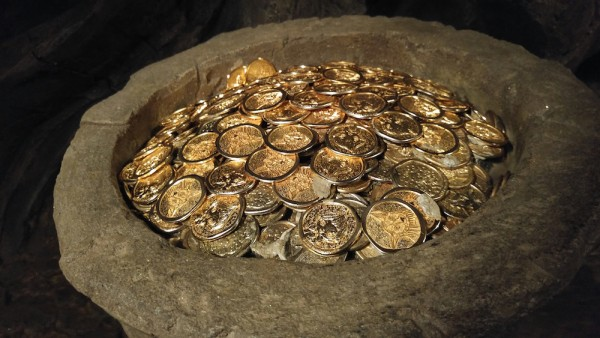 Replica of Gold Coins