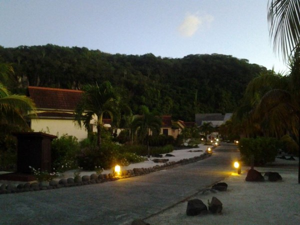 The Village Lights at Night