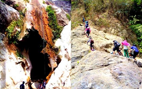 The trail from Kabang Falls