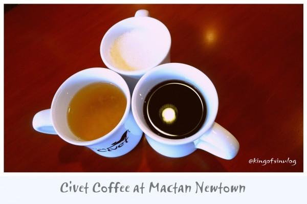 Civet Coffee at Mactan Newtown