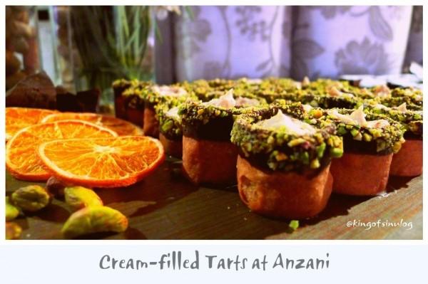 Cream-filled Tarts at Anzami