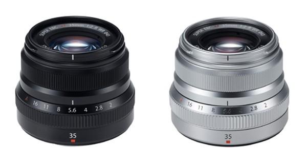 Fujifilm XF35mm f/2 R WR lens