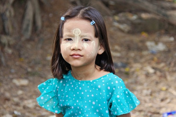 Kid in Burma