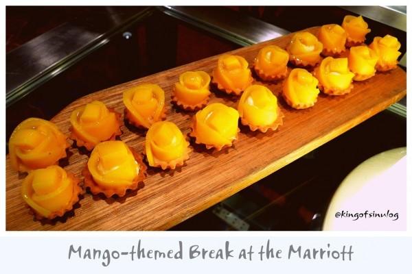 Mango-themed Break at The Marriott