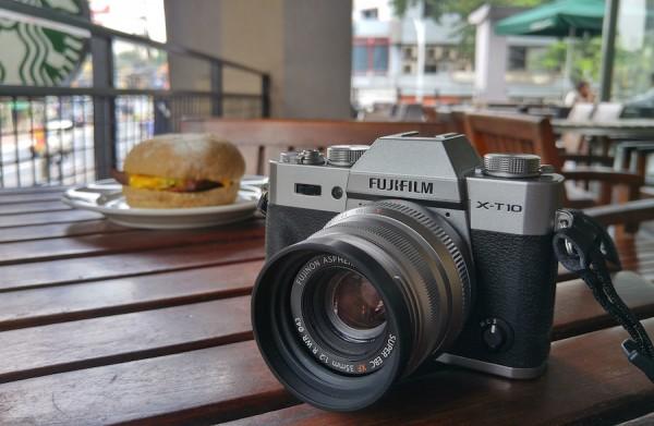 My Fujifilm X-T10 with Fujinon XF35mm f:2 R WR lens