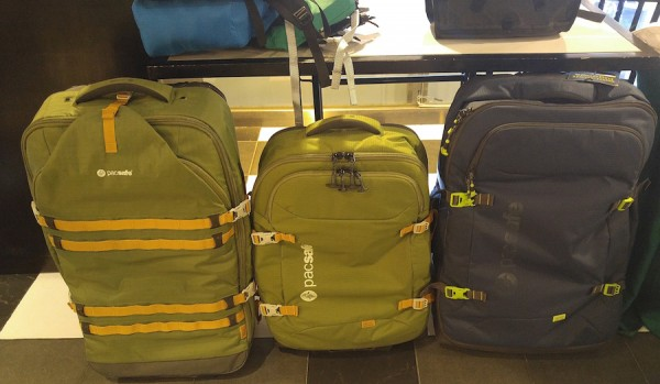 Pacsafe Wheeled Luggage