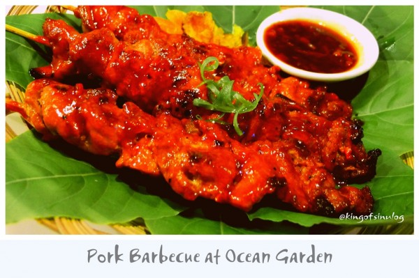 Pork Barbeque at Ocean Garden