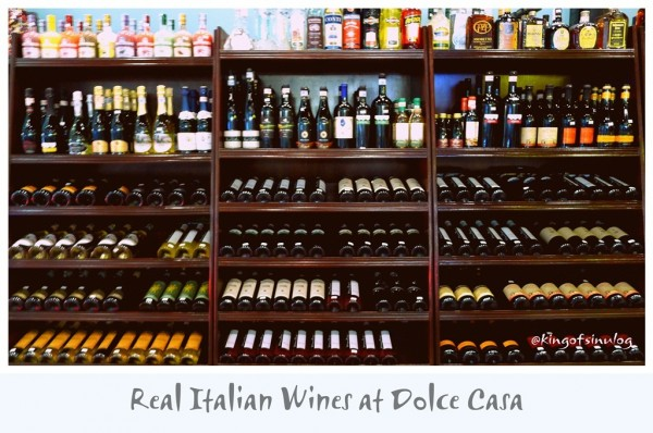 Real Italian Wines at Dolce Casa