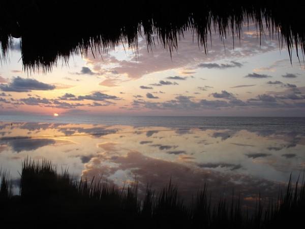 Sunset in Riviera Maya