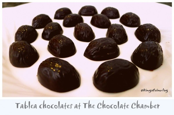 Tablea Chocolates at The Chocolate Chamber