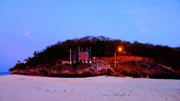 Accessway from the sandbar to the resort