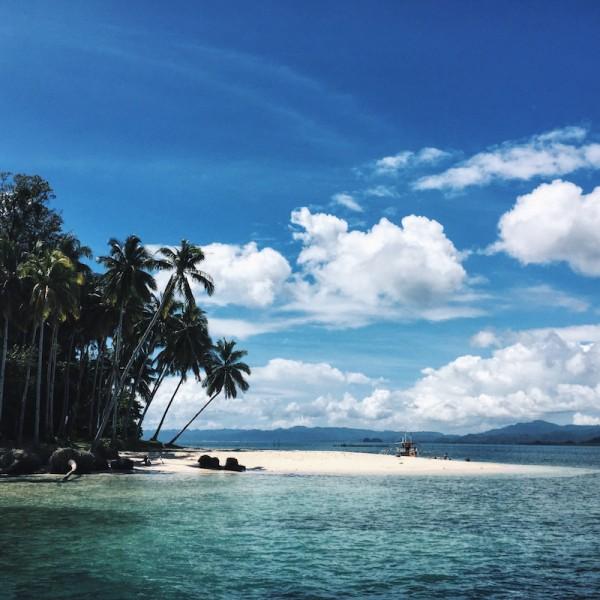 Beach in San Agustin Surigao del Sur
