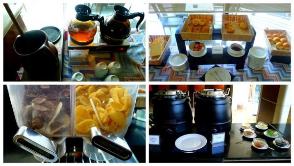 Breakfast sections