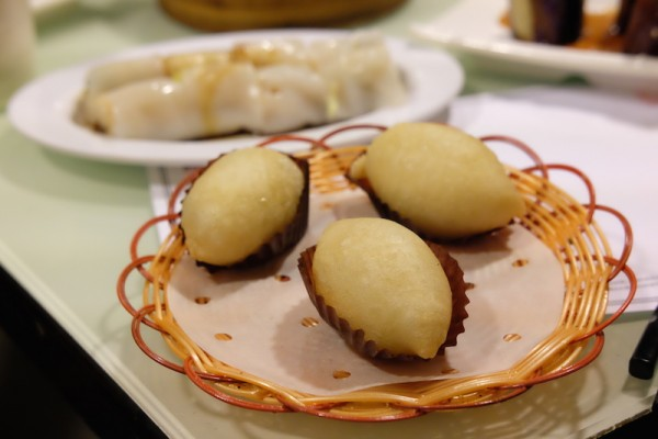 Deep Fried Dumplings with Wasabi Fillings