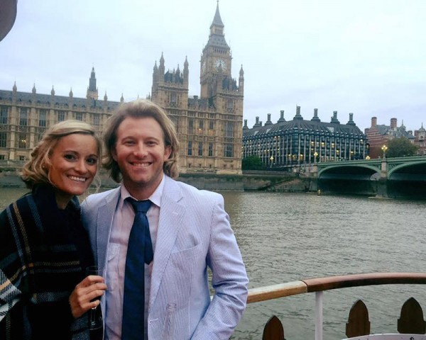 Nicola and I in England Oct 2015 for a family wedding
