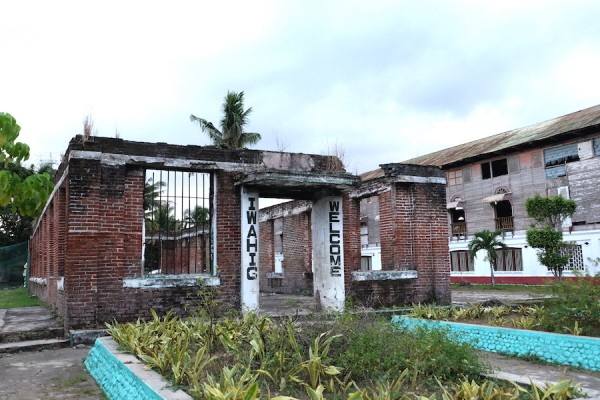 Ruins of Old Building in Iwahig Colony