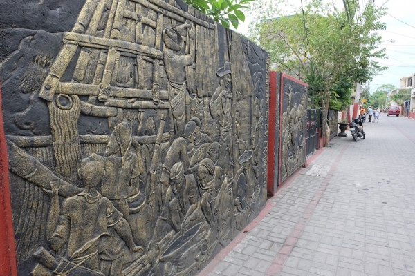 Wall Art in Angono's Art District