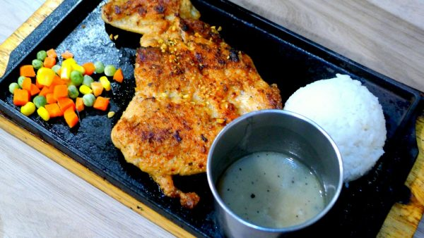 Texas Sizzling Chicken at PHP169