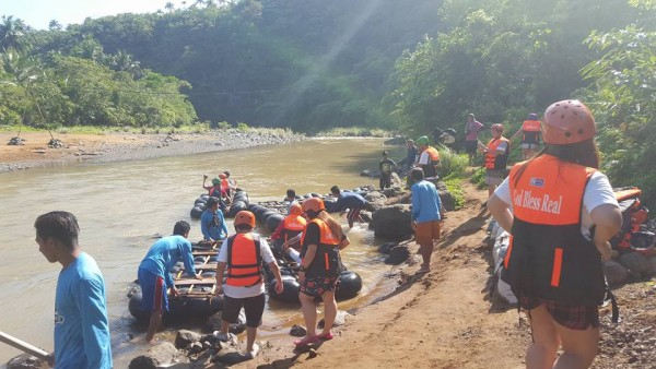 The River Adventure is about to begin
