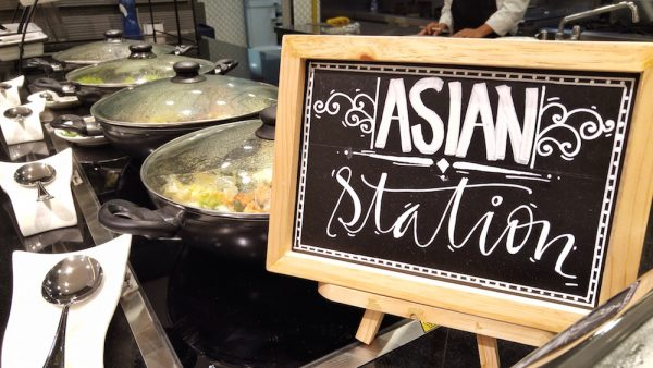 Asian Food Section