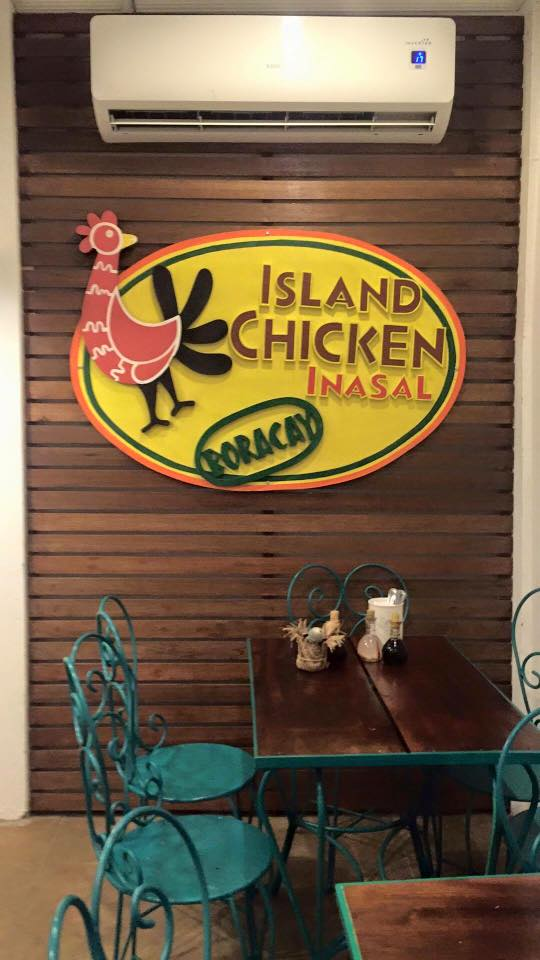 Island Chicken Inasal lovely setup indoors