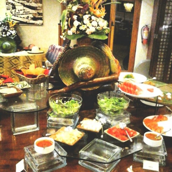 A sneak peak into the Mexican Night Buffet