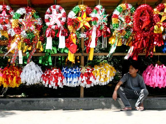 Christmas Lantern Vendor