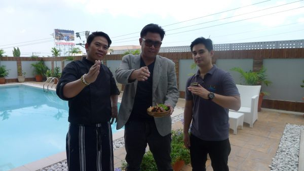 With Chef Glenn and Giovanni