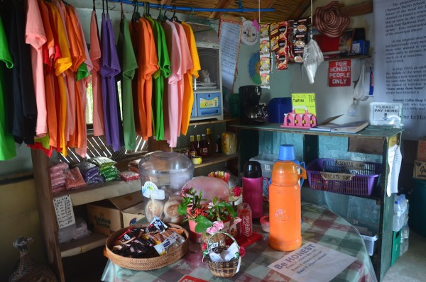 They sell Batanes souvenir T-shirts too