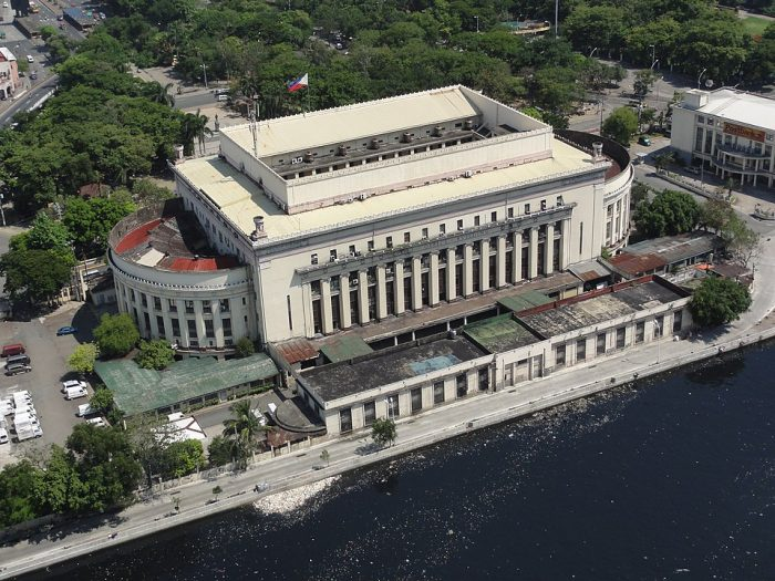 Aerial shot of the Post Office by Patrick Roque via Wikipedia CC