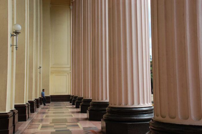 Ionic Columns at Manila Post Office Building