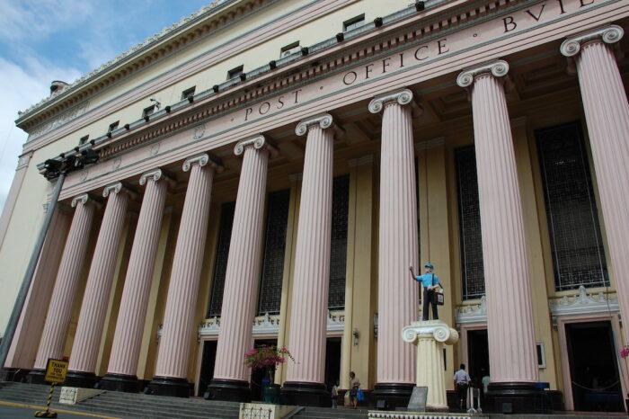 Manila Central Post Office Facade