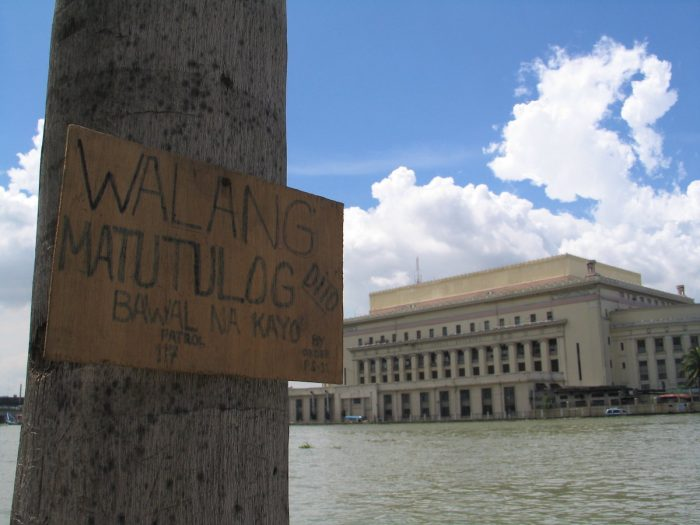 Manila Post Office from Binondo