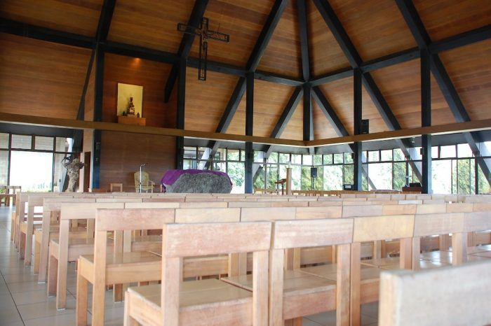 Inside the Chapel of Monastery of the Transfiguration