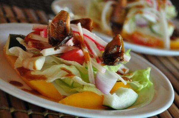 Danggit Salad