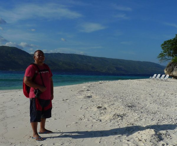 Melo Villareal in Sumilon Island March 2010