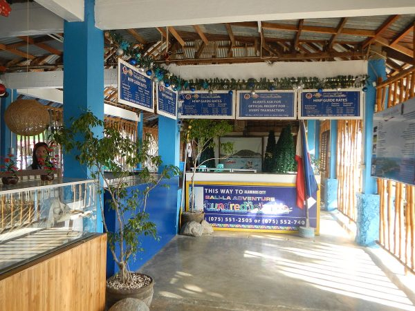 Tourist Center and registration office of the park