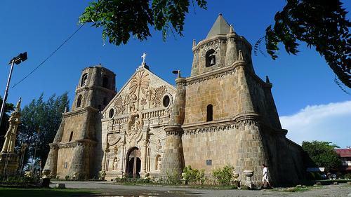 Miag-ao Church in Iloilo - Fly now with AirAsia