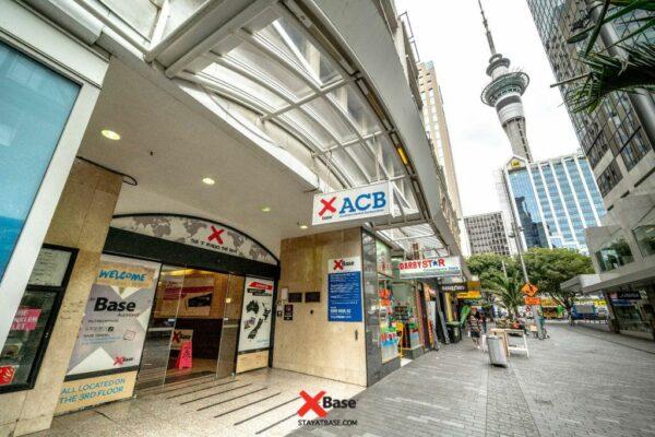 Base Auckland, Auckland, New Zealand