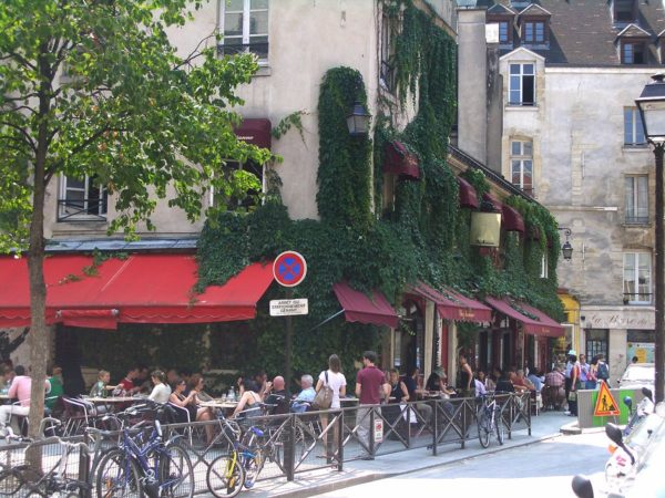 Chez Marianne, a Jewish restaurant in Le Marais