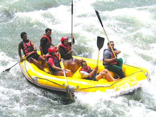 philippines whitewater rafting destinations